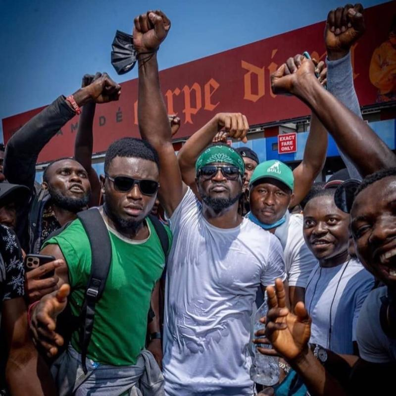 NIGERIANS PROTEST OVER POLICE BRUTALITY SARS