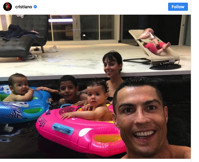 Cristiano Ronaldo: his twins Eva and Mateo celebrate their first birthday!