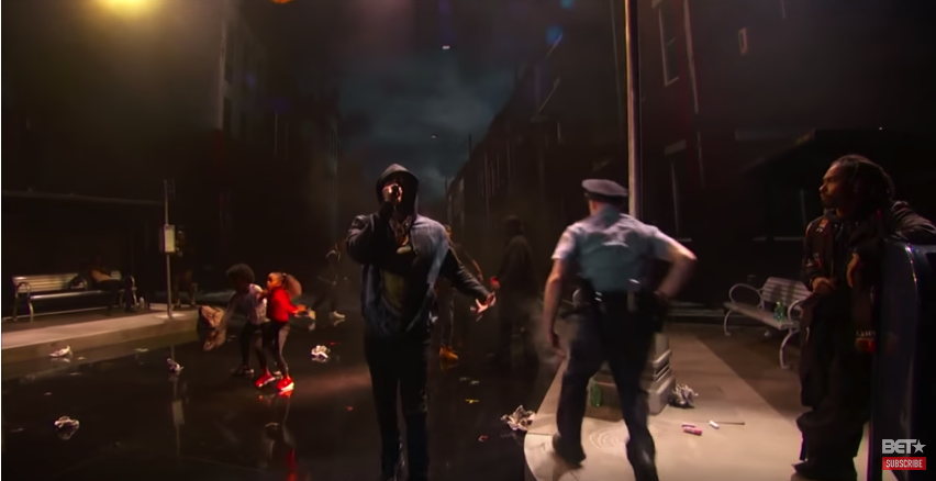 Meek Mill and Miguel Best BET Awards 2018 In An Emotional Police Brutality. Video