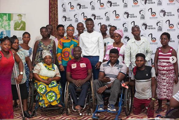 Stone Bwoy And His Foundation Meet Persons With
