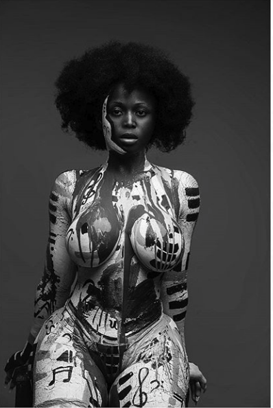 See The Most Exciting 2019 Photo Shoot Of Ghanaian Singer Nina Richie