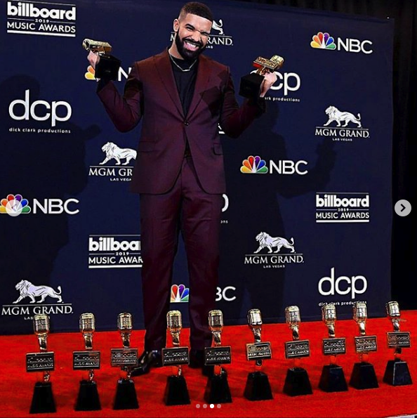 Drake Made History At The 2019 Billboad Music Awards #BBMAS