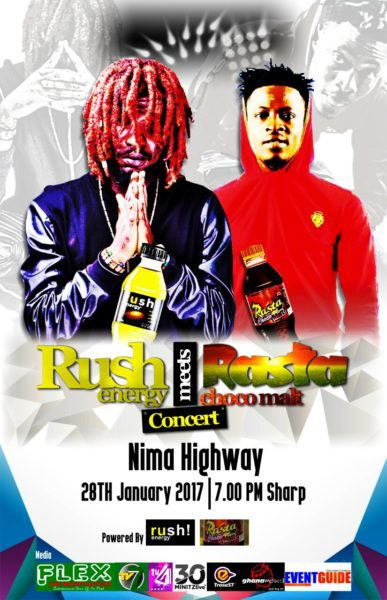 Rush Energy meets Rasta Choco Malt - Tamale Meets Nima