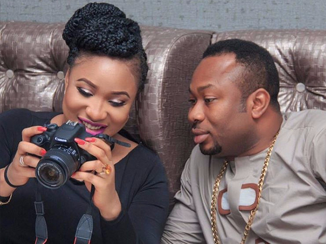 Churchill squatted in my house after we got married - Nollywood actress Tonto Dikeh
