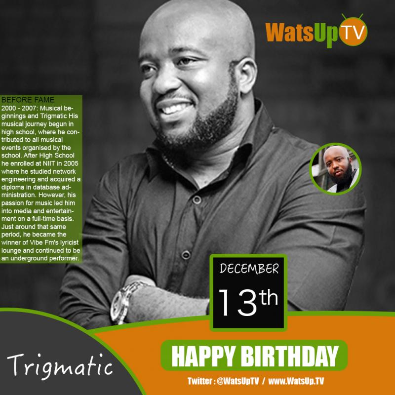 Happy birthday trigmatic