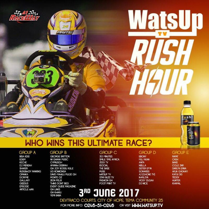 WatsUp TV to Host Celebrities & Bloggers for Car Racing