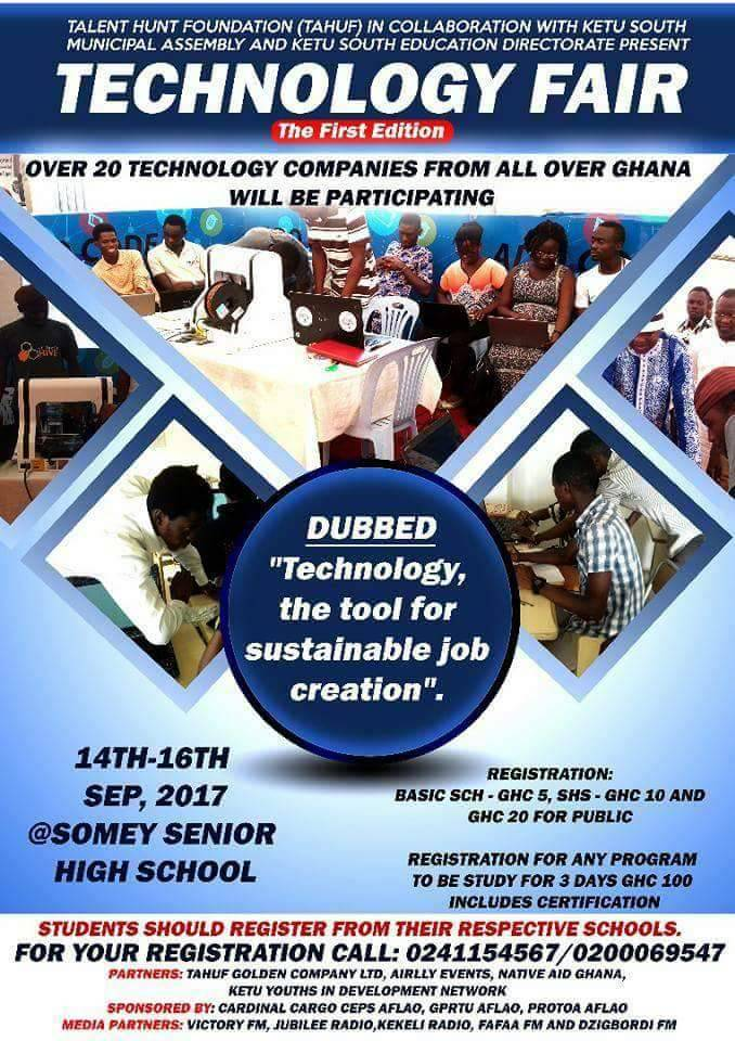 Talent Hunt Foundation holds maiden tech fair in Volta Region