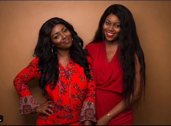 Yvonne Nelson, Yvonne Okoro takes first photo together in 4 years
