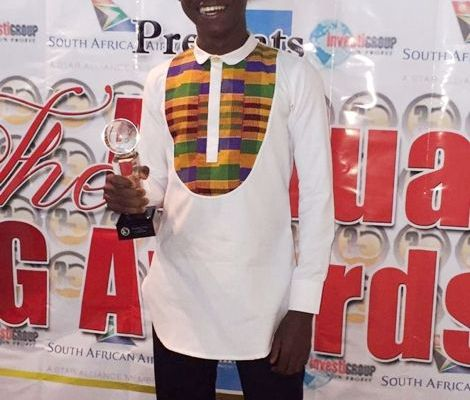 Abraham Attah honoured at 3G Media Awards in New York