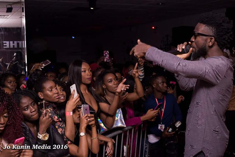 Bisa Kdei Concert In USA Philly TheLoungePhilly was dope