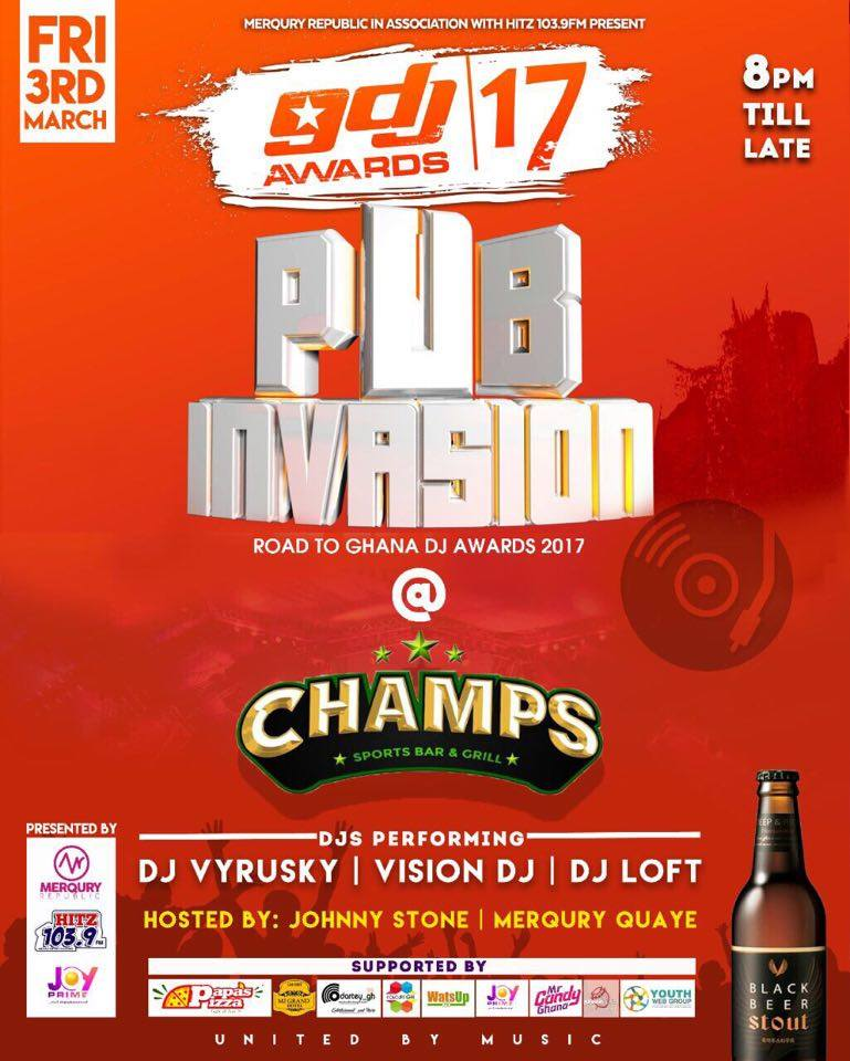 #PubInvasion continues to stir up excitement amongst music fans across the country with great performances by the country's top DJs.