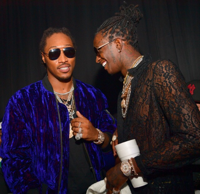 Young Thug & Future Tattooed Each Others Names On Themselves