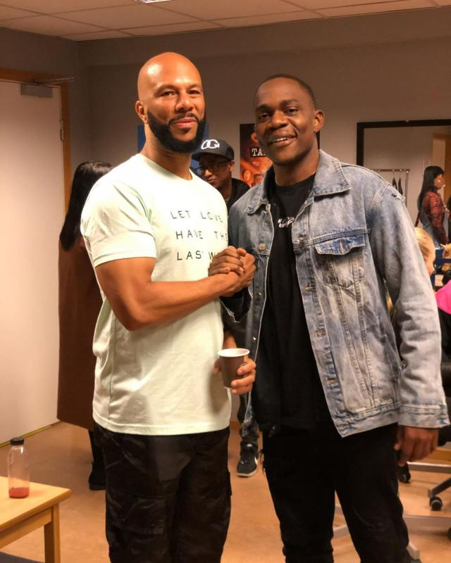 Gemini Meets Legendary American Rapper Common