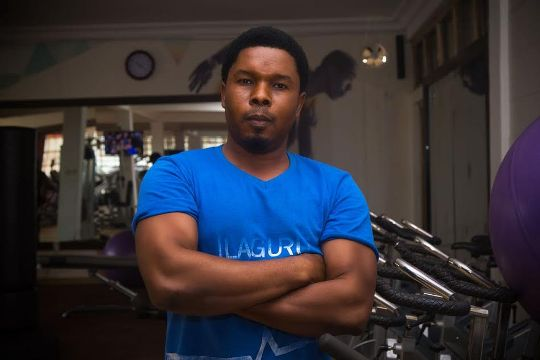 Meet the Abuja gym instructor who took two slaps from a female customer and didn't retaliate