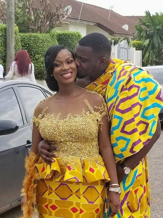 Mr ladies man, aka John Dumelo got married last weekend