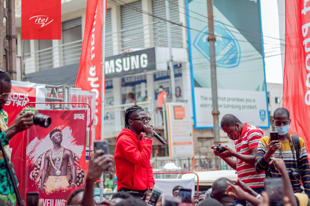 itel makes Kuami Eugene Brand Ambassador for Four Countries