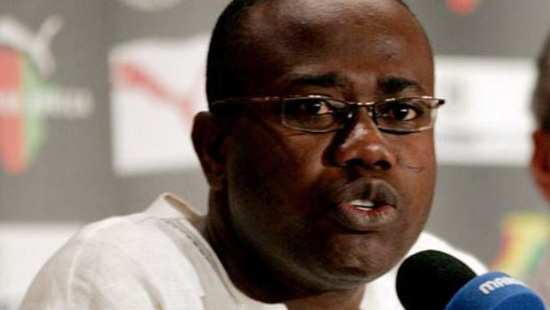 Kwesi Nyantakyi spotted a video making a match fixing deal