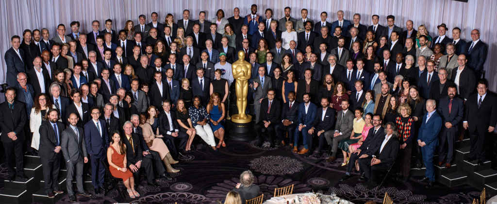 The 2017 Oscars Class Photo Is Here: Check Out Who Made the Star-Studded Pic in Years Past