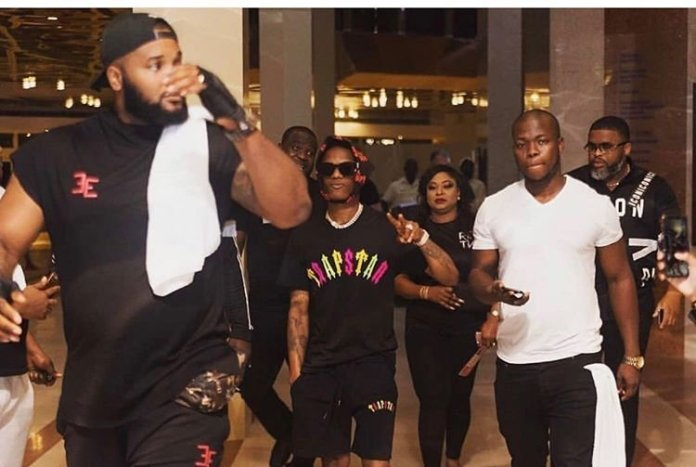 Wizkid's Bodyguard Got A New Mansion For Himself.
