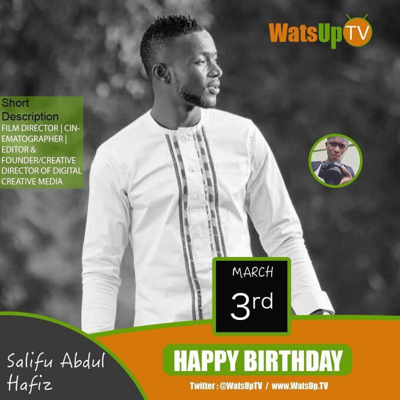 Happy birthday salifu