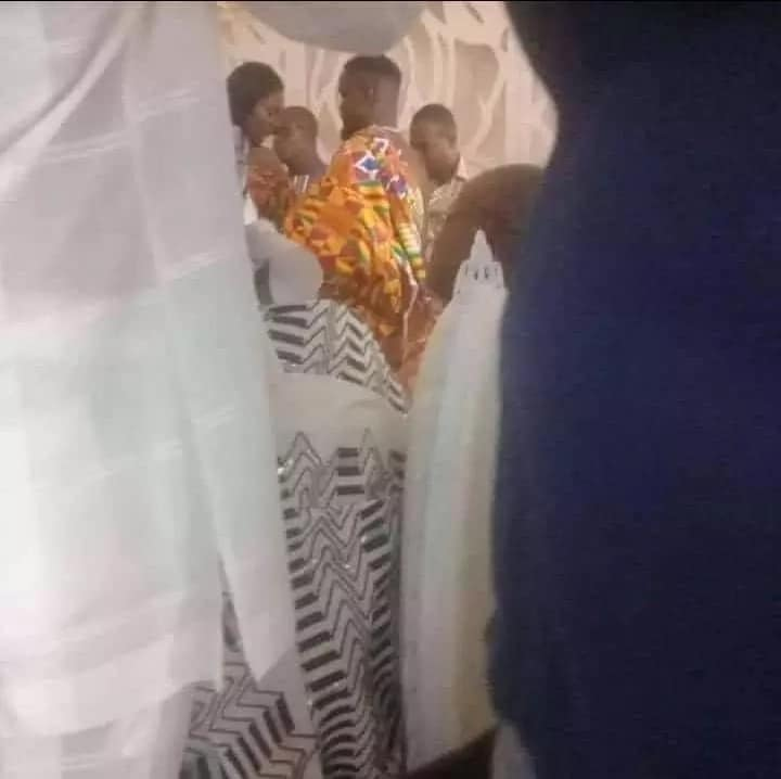 Exclusive photos from Sarkodie and Tracy's traditional marriage ceremony