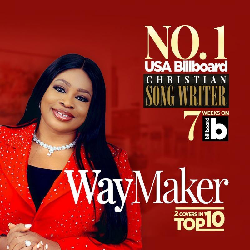 SINGER SINACH BEATS CHRIS BROWN, TRENDING ON BILLBOARD FOR 7 WEEKS