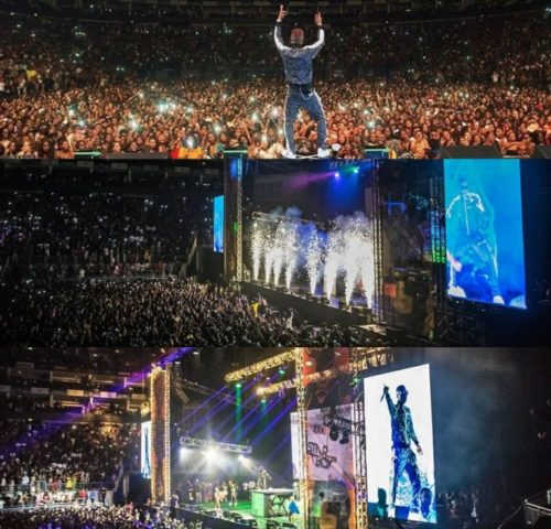 Photos: Wizkid Sells Out The O2 Arena As More Than 20,000 People Come Out For Starboy's AfroRepublik concert