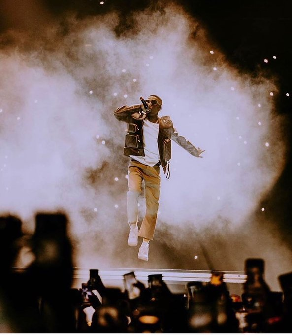 Wizkid Made Another Historical Record Last Saturday In London