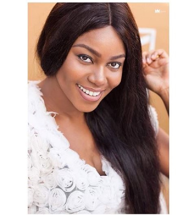 Yvonne Nelson back on set after baby